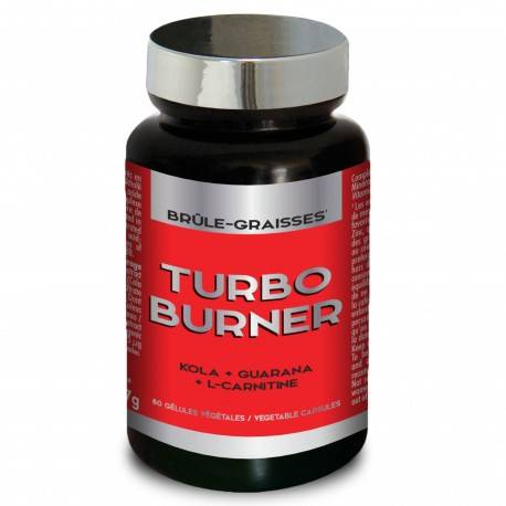 Men's Nutri Expert Turbo Burner - Fat Burner - 60 Capsules One Size
