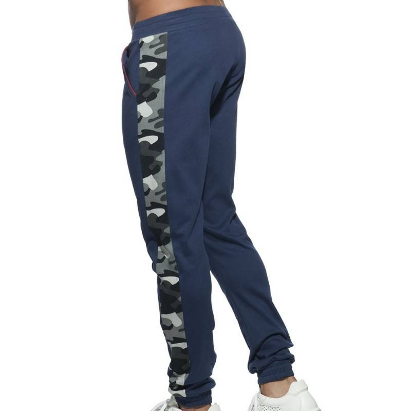 Addicted Sport Camo Pants - Navy
