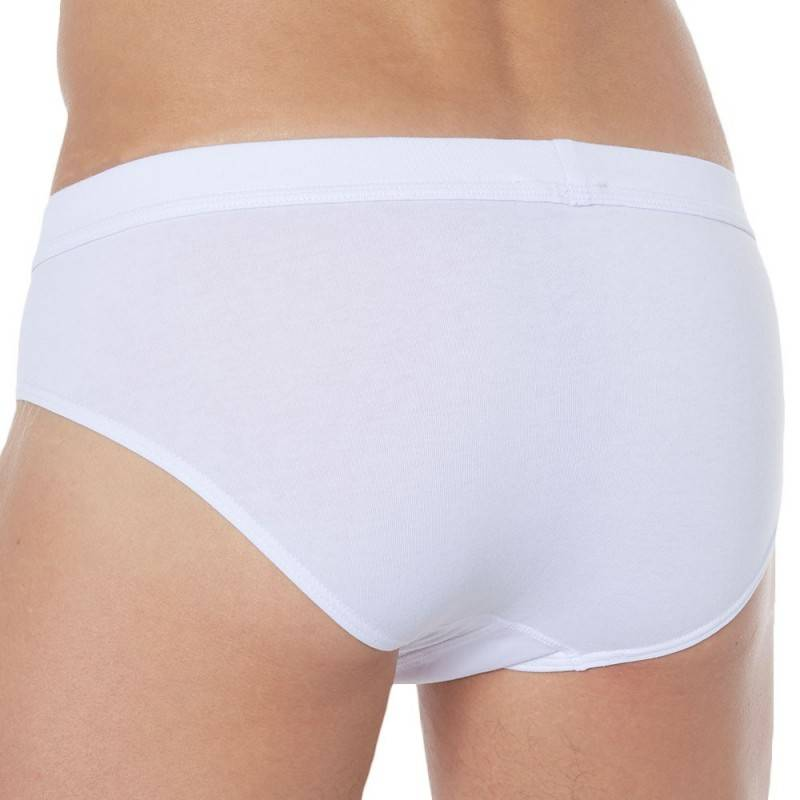 Bikkembergs 2-Pack Stretch Cotton 319 Briefs - White
