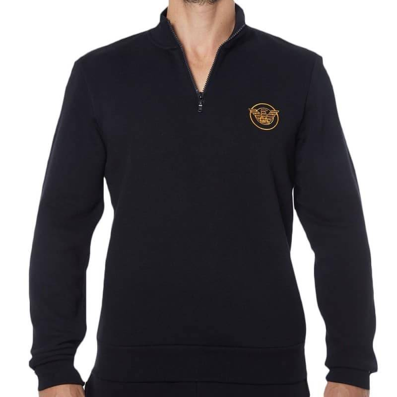 Emporio Armani Sweat-Shirt Iconic Terry Noir