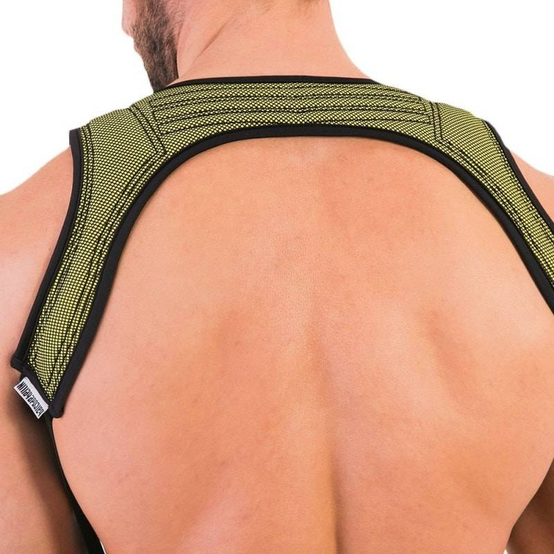 Barcode Perry Harness - Black - Yellow
