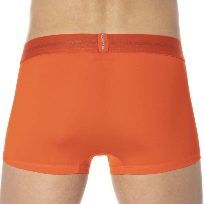 Calvin Klein Focused Fit Micro Boxer - Tangerine