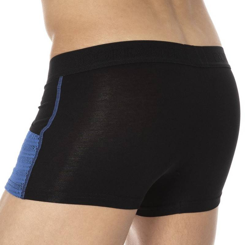 Doreanse Elegant Pockets Boxer - Black - Blue