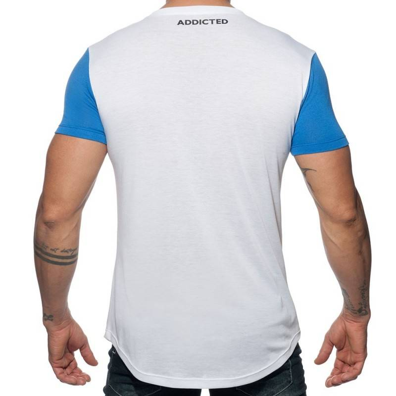 Addicted T-Shirt 69 Blanc