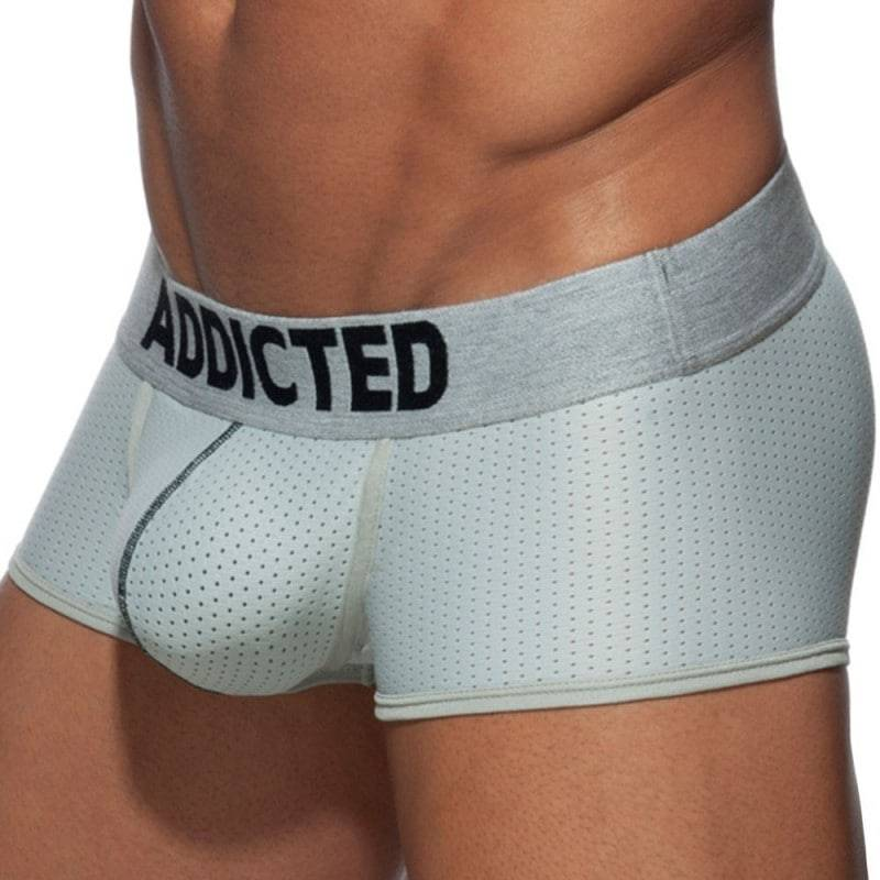 Addicted Boxer Push Up Mesh Argent