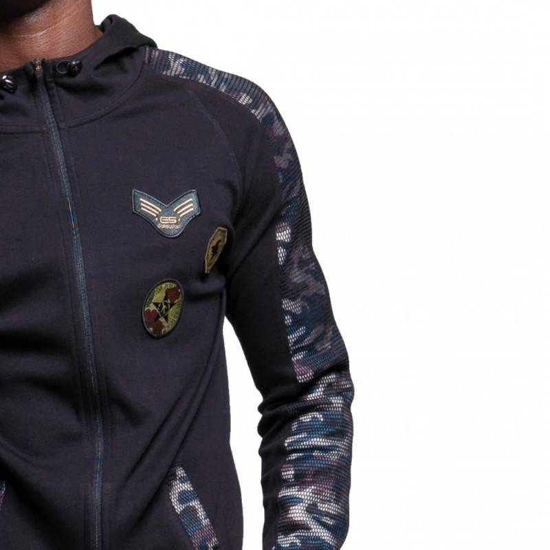 ES Collection Veste Sport Padded Army Noire
