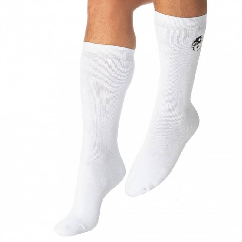 Diesel Chaussettes Yin-Yang Blanches