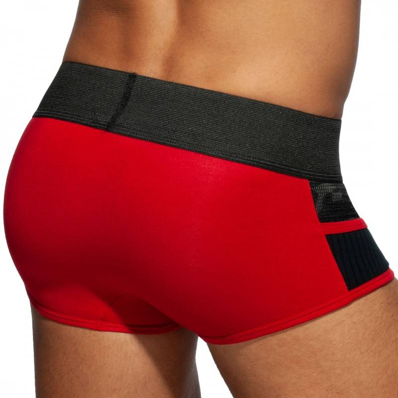 Addicted Boxer Combi Army Rouge