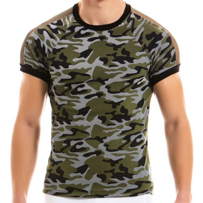 Modus Vivendi T-Shirt C-Through Camo Kaki