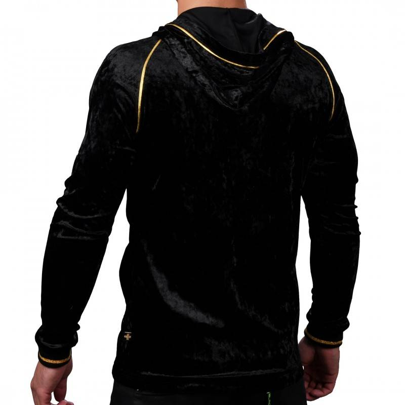 Andrew Christian Midnight Hoodie - Black