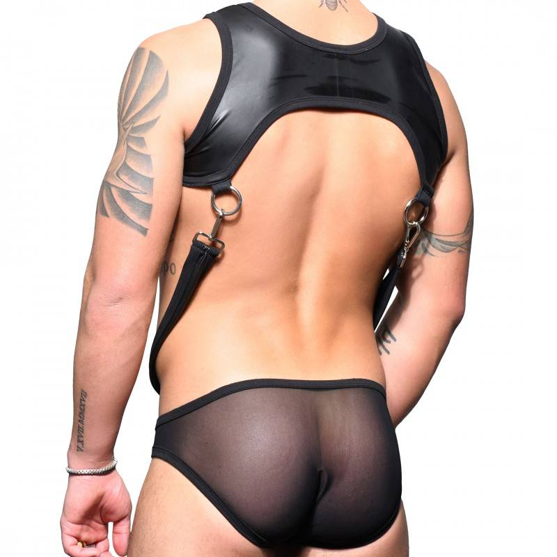 Andrew Christian Body Ring Mesh FUKR Erotic Noir