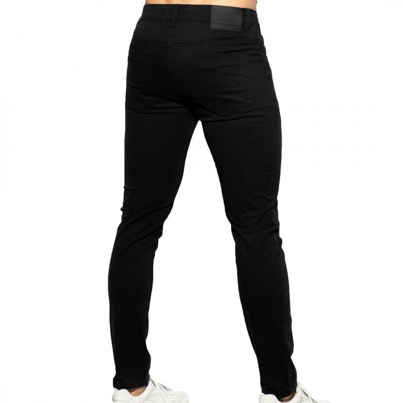 ES Collection Pantalon Slim Fit Noir