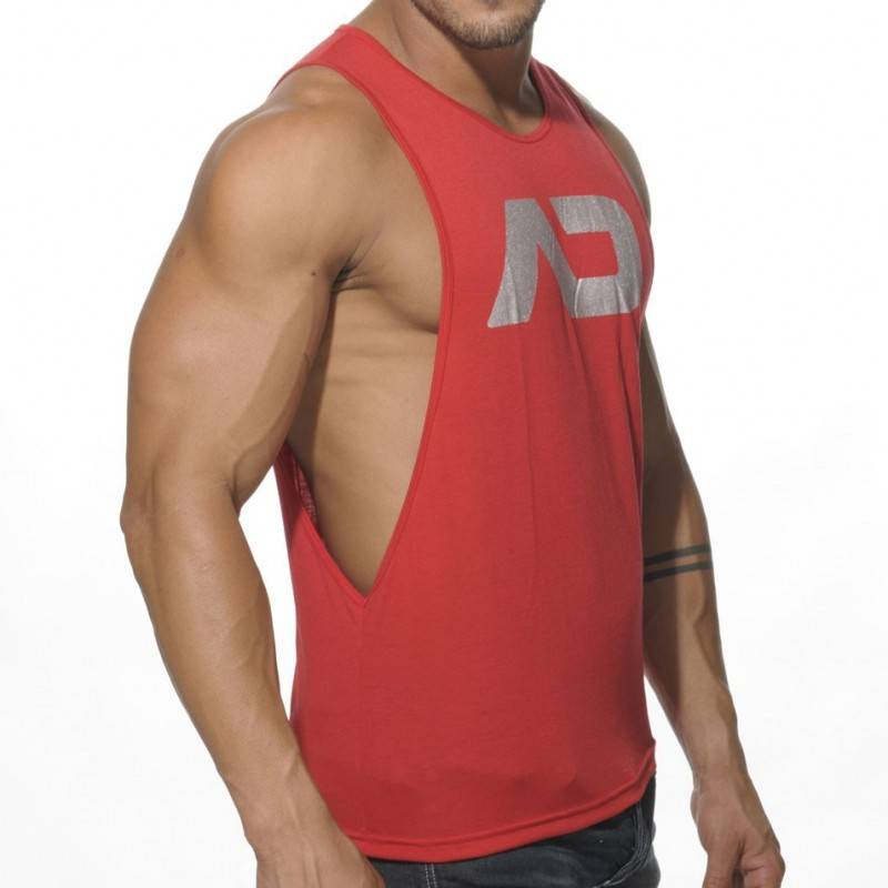 Addicted Disco Tank Top - Red