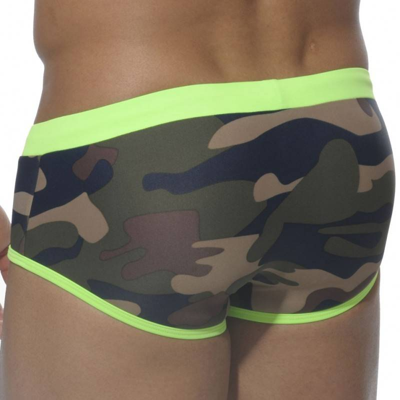 ES Collection Slip de Bain Europe Camouflage