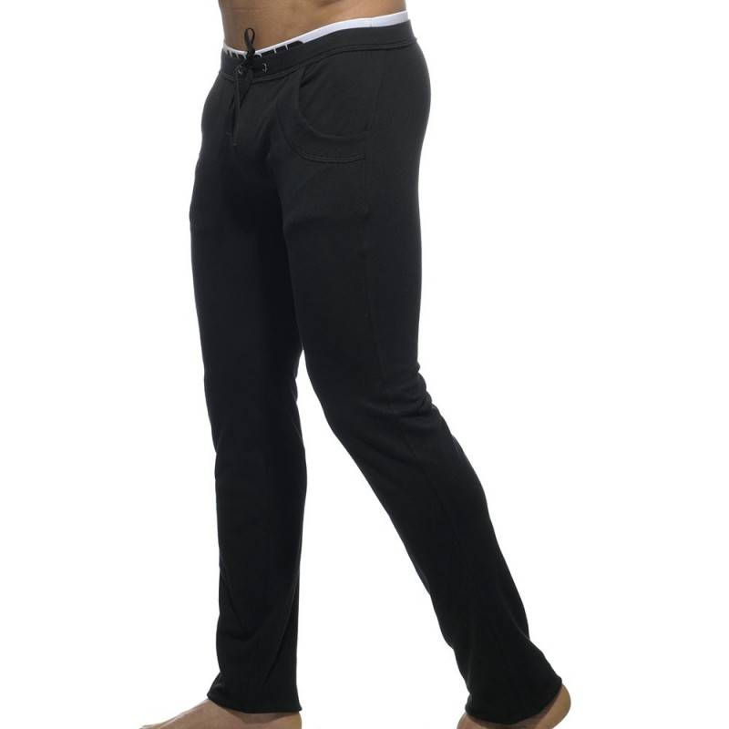 Addicted Pantalon Combined Waistband Noir