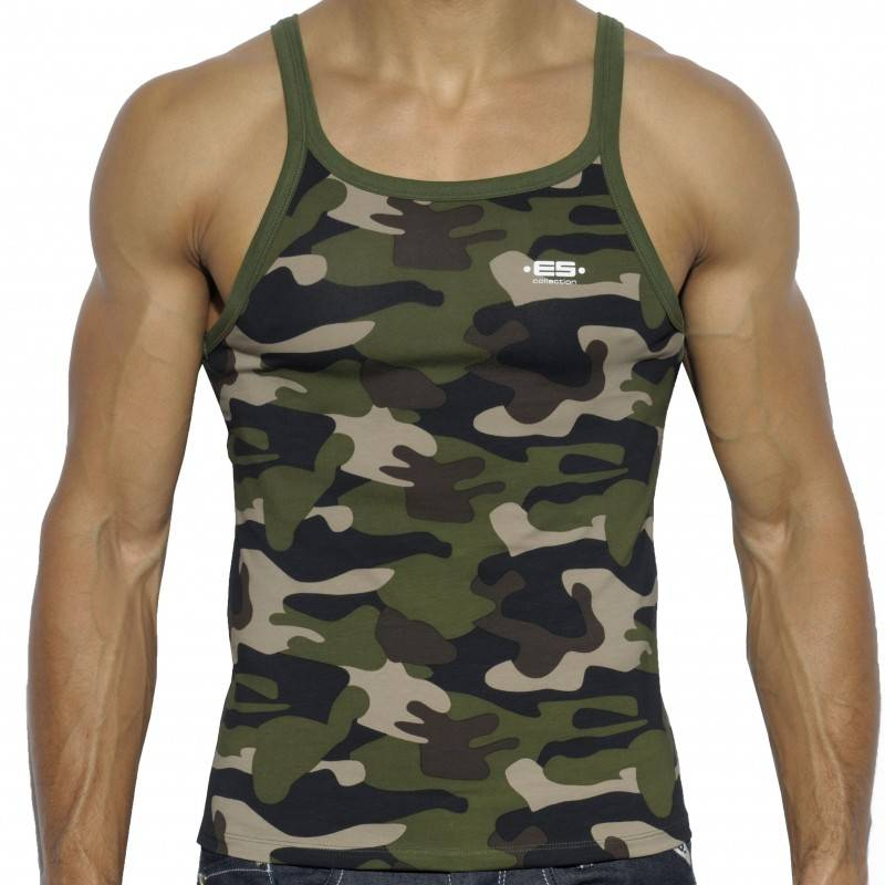 ES Collection Summer Tank Top - Camouflage