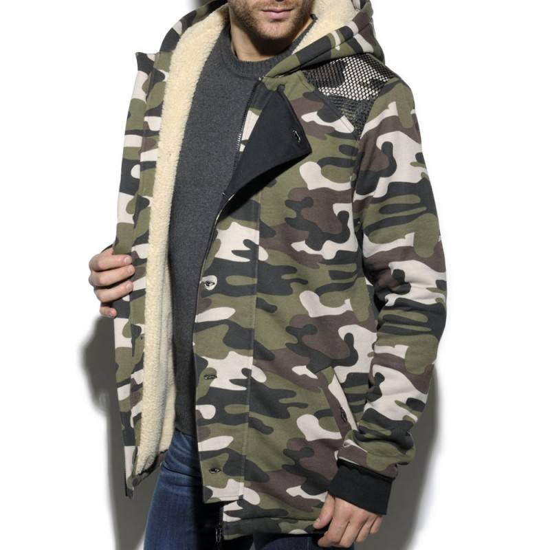 ES Collection Manteau Military Camouflage