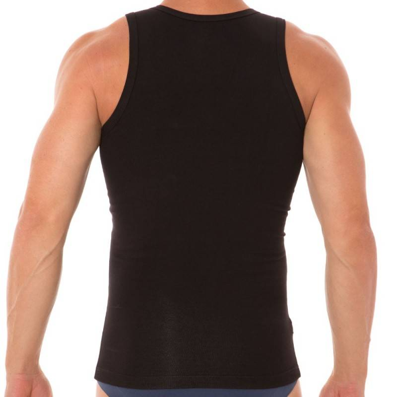 LEO Firm Control Tank Top - Black