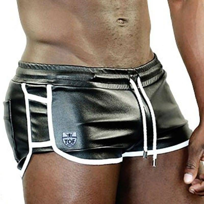 TOF Paris Short Cruise Delux Noir - Blanc