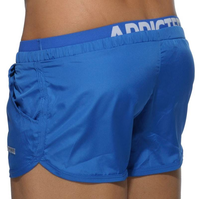 Addicted Short de Bain Double Waistband Royal