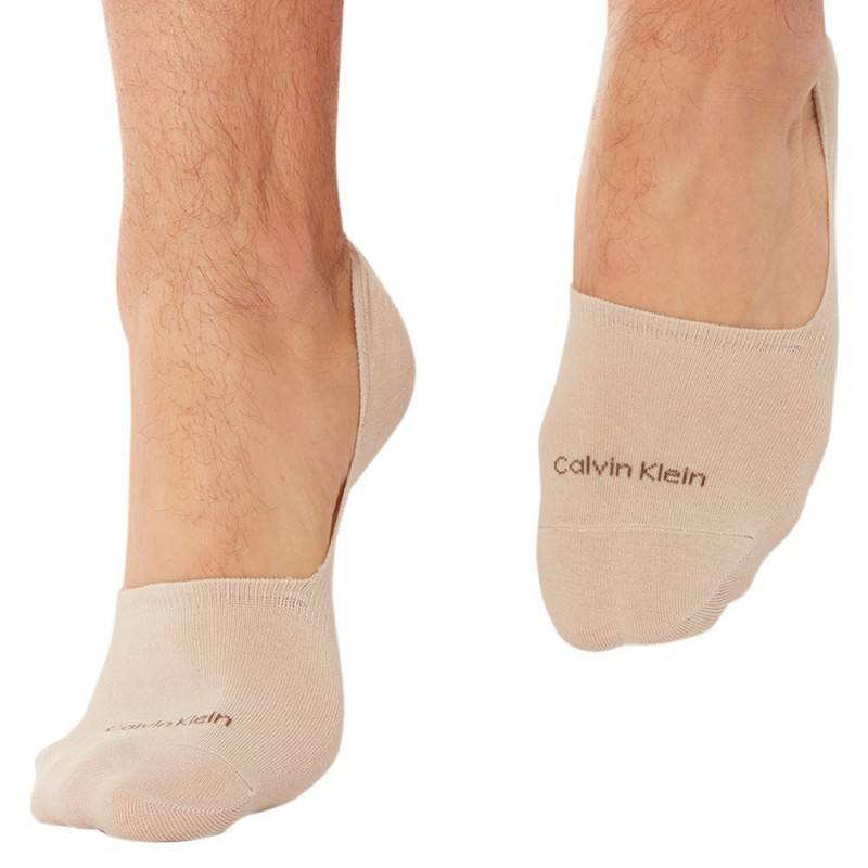 Calvin Klein Lot de 2 Paires de Chaussettes Invisibles Luca Chair