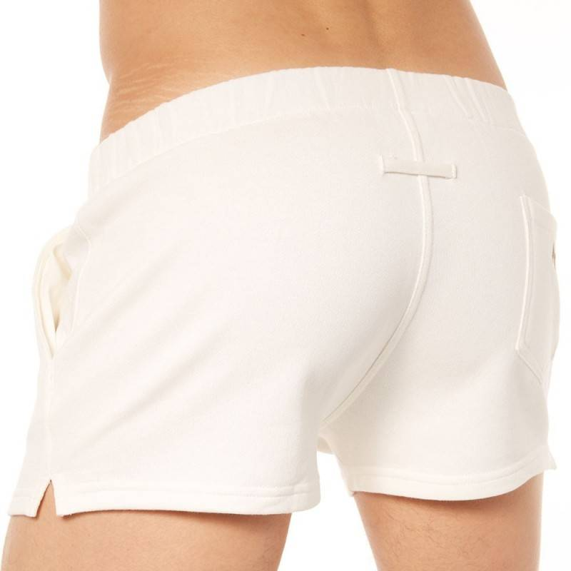 Marcuse Short Physical Blanc