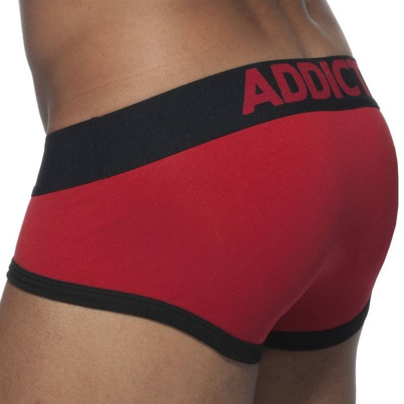 Addicted Basic Colors Brief - Red - Black