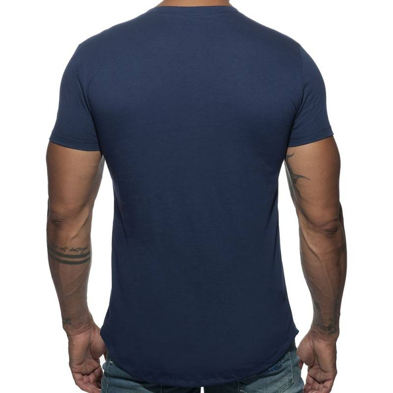 Addicted T-Shirt Basic U-Neck Marine
