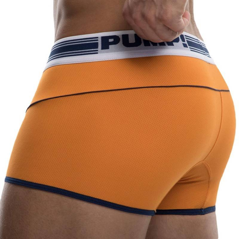 Pump! Boxer Free-Fit Varsity Orange