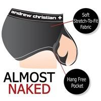 Almost Naked Body Ring Mesh FUKR Erotic Noir